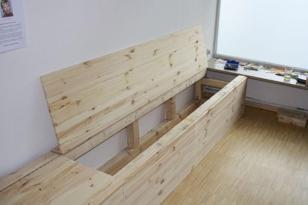 Wenn Man Stauraum Braucht  Bauanleitung Zum Selberbauen  12Do von Eckbank Mit Stauraum Selber Bauen Photo