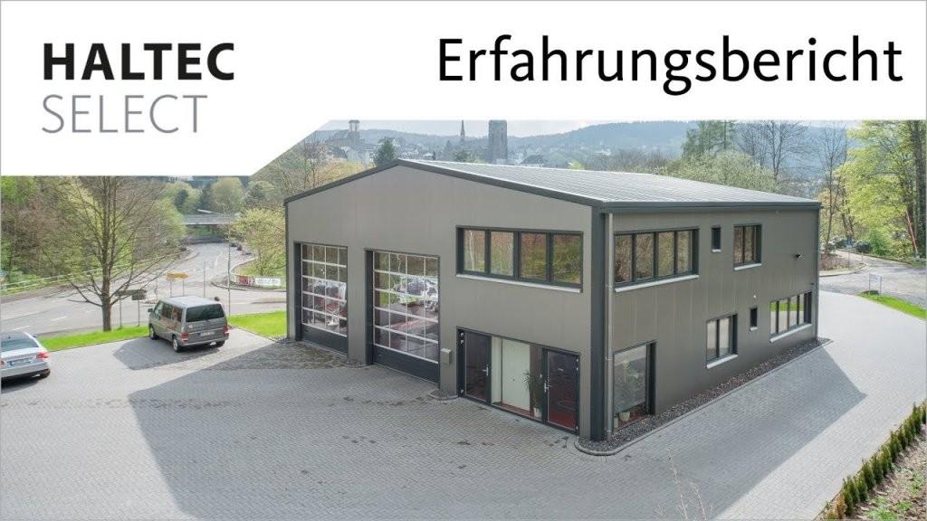 Werkstatthalle Haltec Select Für Kfzprüfstelle  Youtube von Kfz Werkstatt Bauen Kosten Photo
