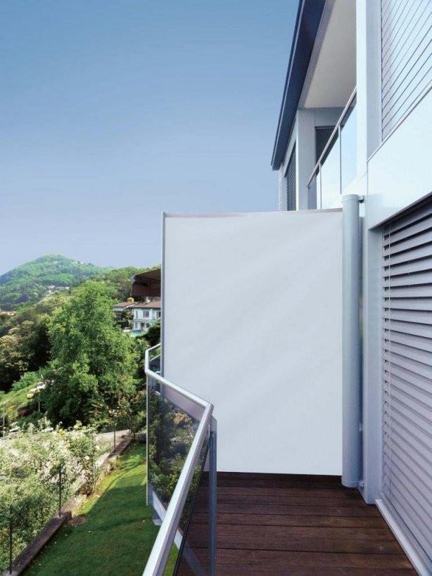 Wetterschutz Für Den Balkon Zum Werkspreis von Balkon Dach Ohne Bohren Bild