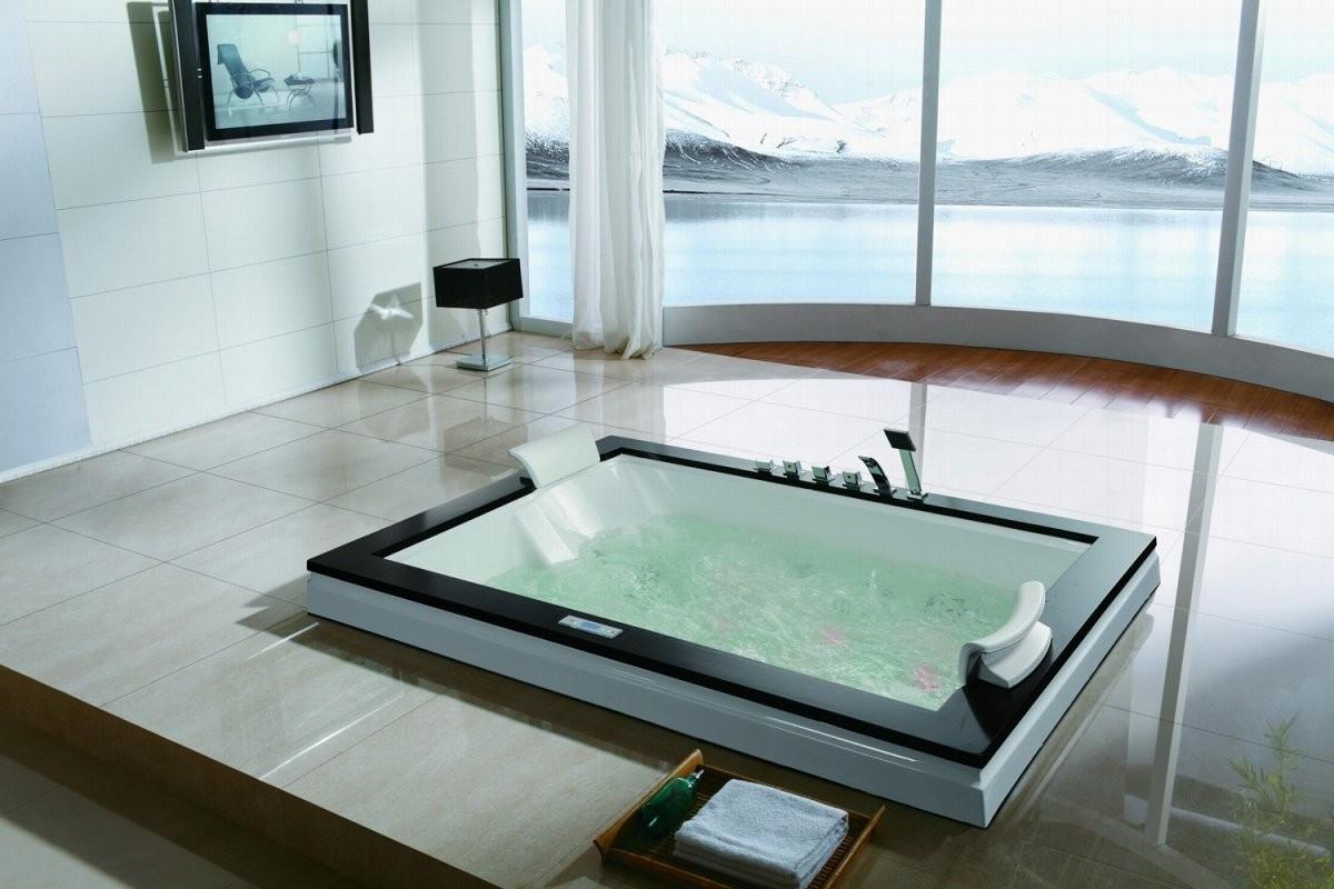 Whirlpool Badewanne M208D Multispa System von Whirlpool Einlage Für Badewanne Bild