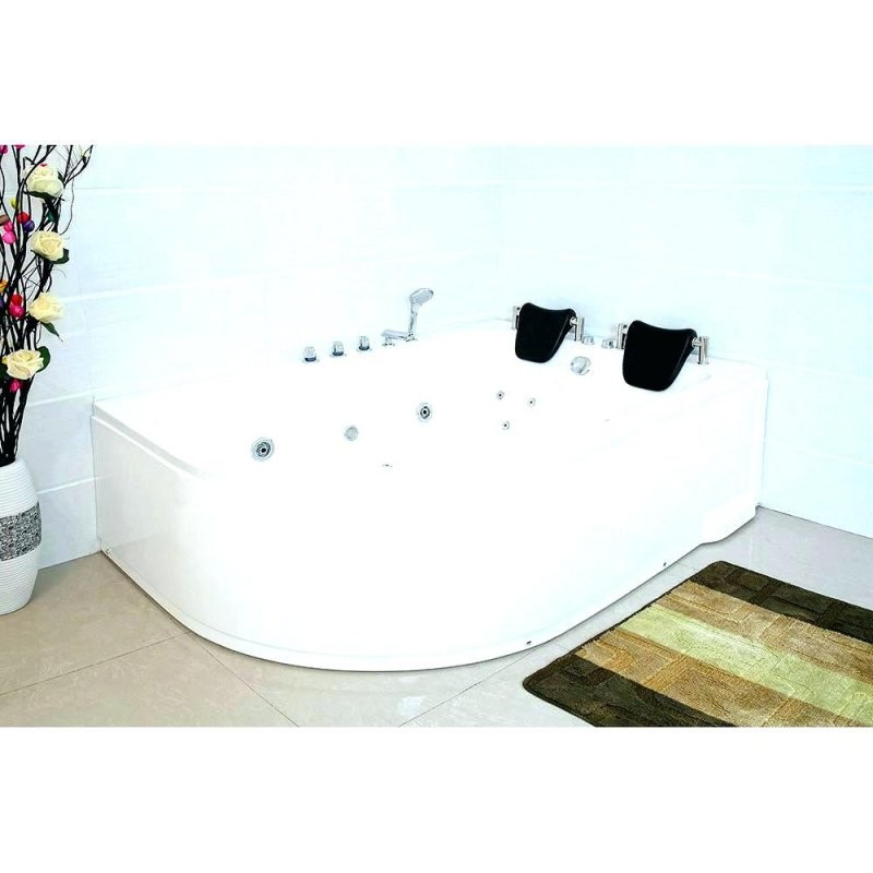 Whirlpool Badewanne Test Atemberaubend Matte Eckbadewanne Wanne Pool von Whirlpool Einlage Für Badewanne Bild