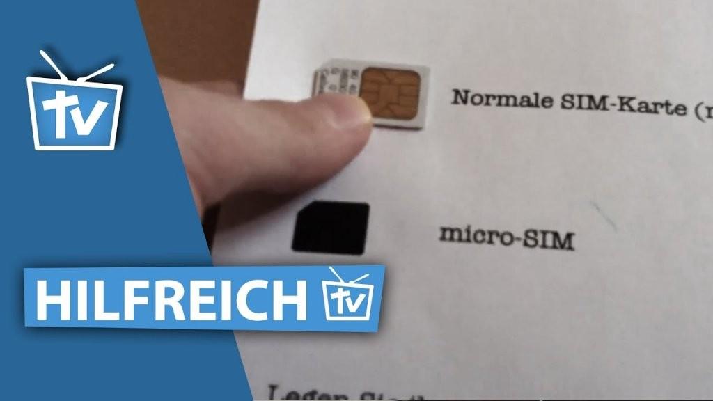Wie Kann Ich Micro Sim Karte Selber Machen  Micro Sim Karte von Nano Sim Auf Micro Sim Adapter Selber Bauen Bild