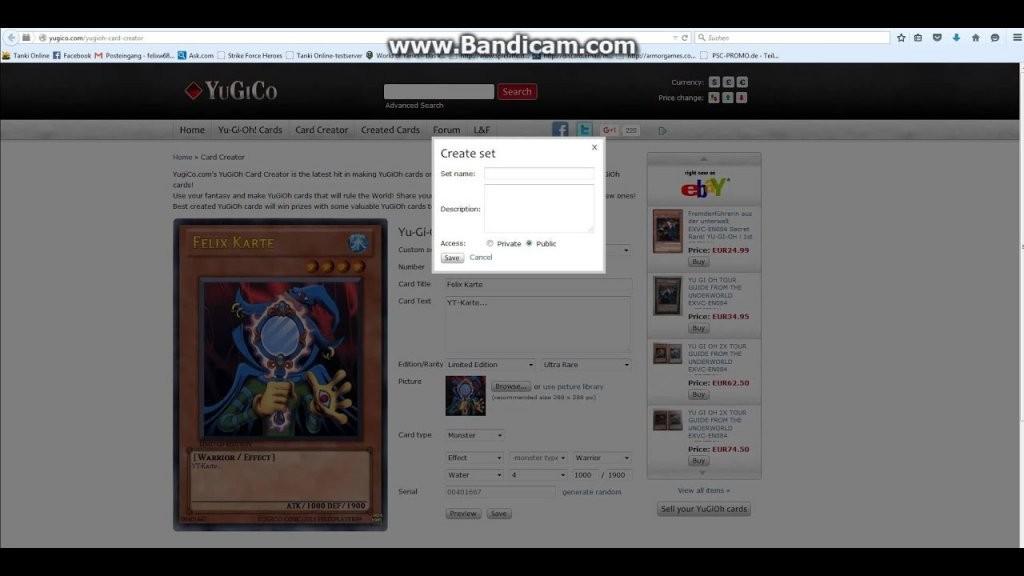 Wie Mache Ich Yugioh Karten Selbst  Auch Kostenlos  Youtube von Yugioh Karten Selbst Erstellen Photo