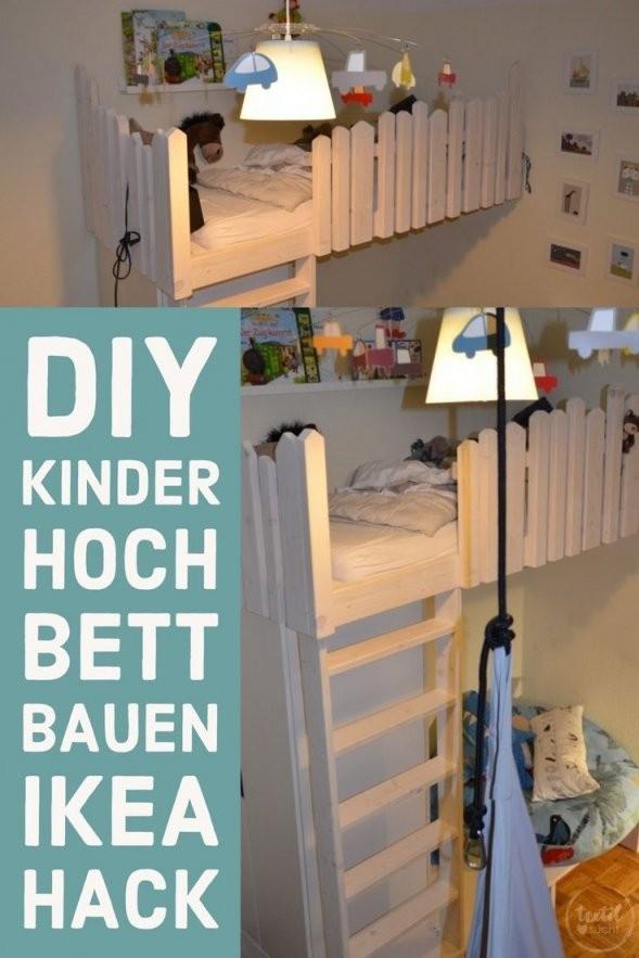 Wie Man Sich Ganz Einfach Ein Hochbett Für Kinder Selber Bauen Und von Hochbett Für Kinder Selber Bauen Photo