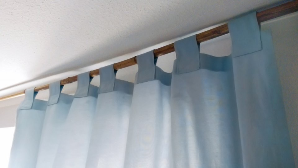 Wie Näht Man Gardinen  Vorhänge  Nähanleitung von Gardinen Selber Nähen Faltenband Photo
