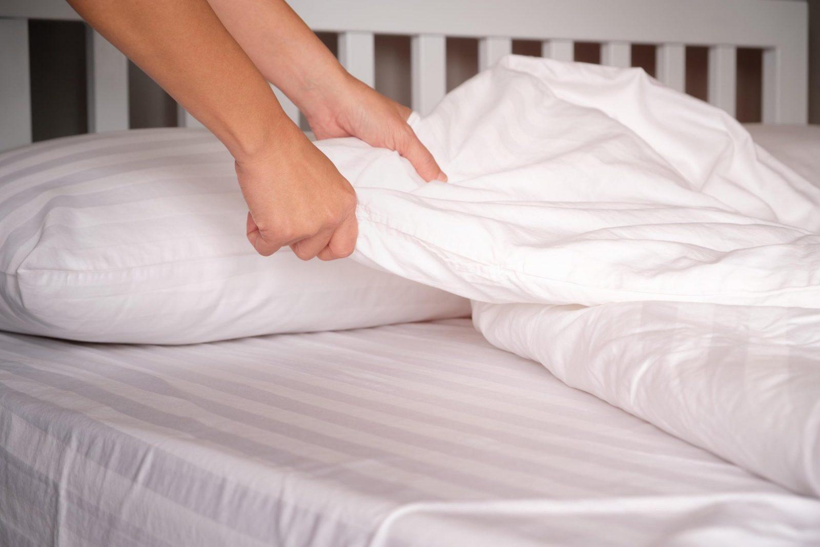 Wie Oft Sollte Man Handtücher Bettwäsche Und Co Wechseln  Web von Bei Wieviel Grad Bettwäsche Waschen Bild