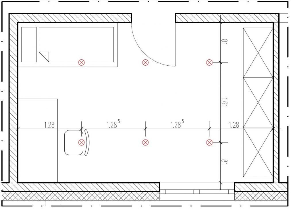 Wieviel Einbaustrahler Pro Quadratmeter von Led Einbaustrahler Abstand Zueinander Photo
