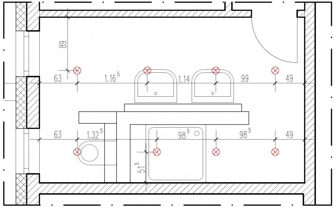 Wieviel Einbaustrahler Pro Quadratmeter von Led Spots Decke Abstand Bild