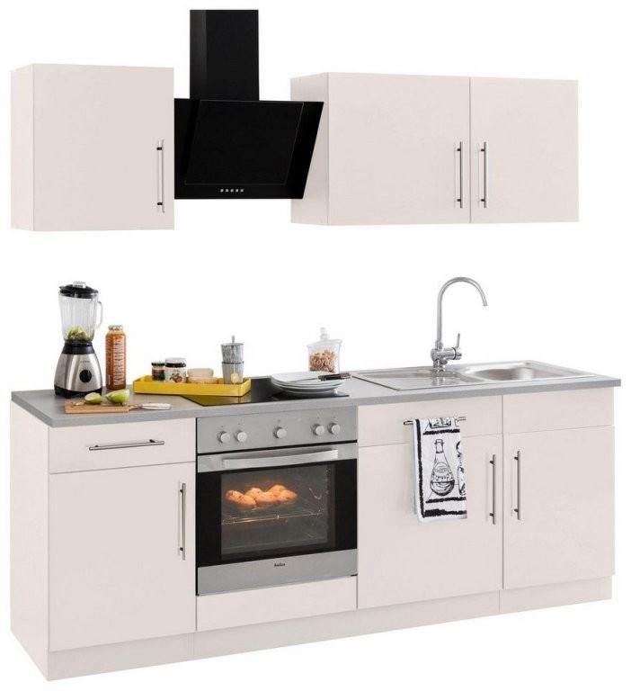 Wiho Küchen Küchenzeile Cali Ohne Egeräte Breite 220 Cm von Küchenzeile 220 Cm Ohne Geräte Photo