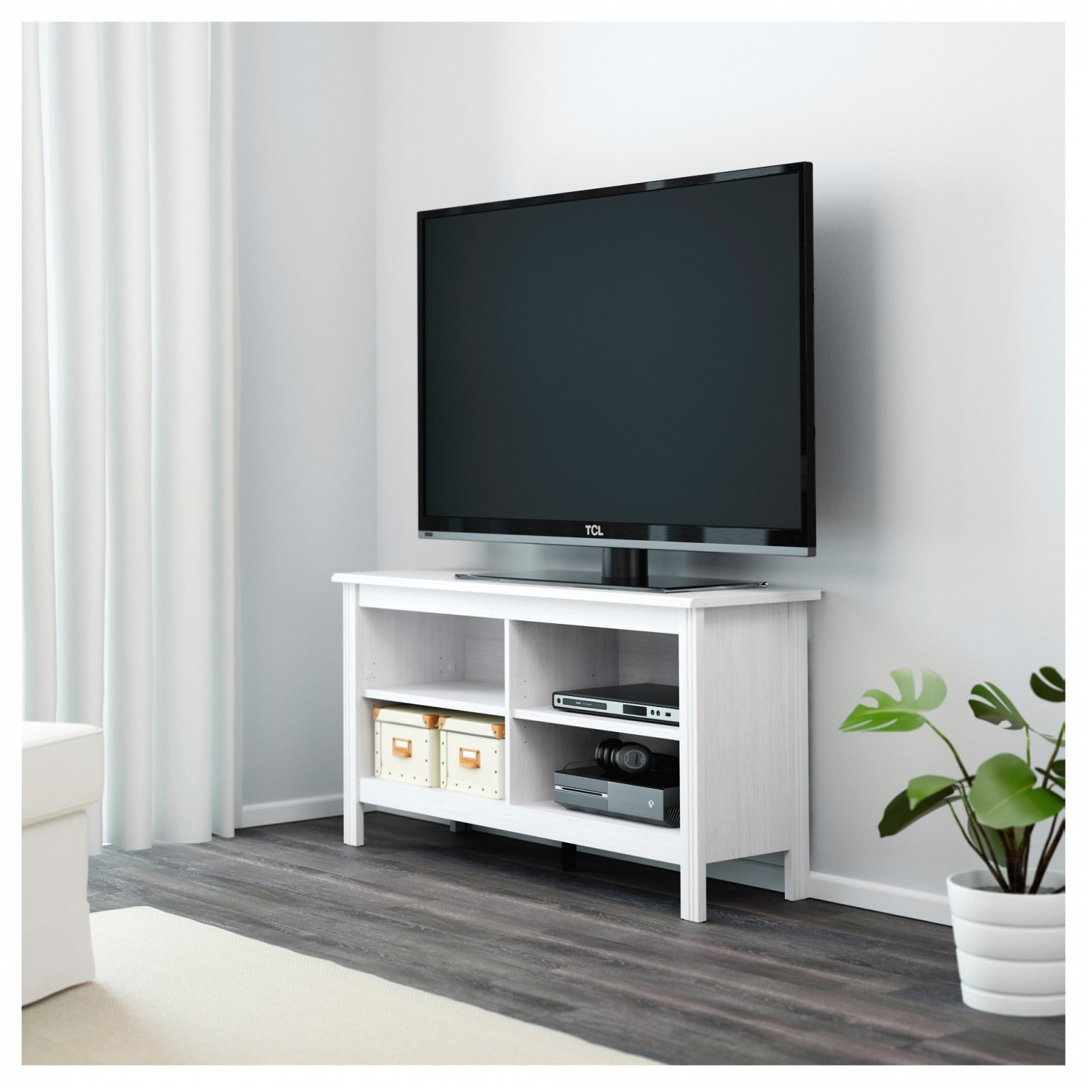 Wit Ikea Tv Meubel von Besta Tv Bank Weiß Photo