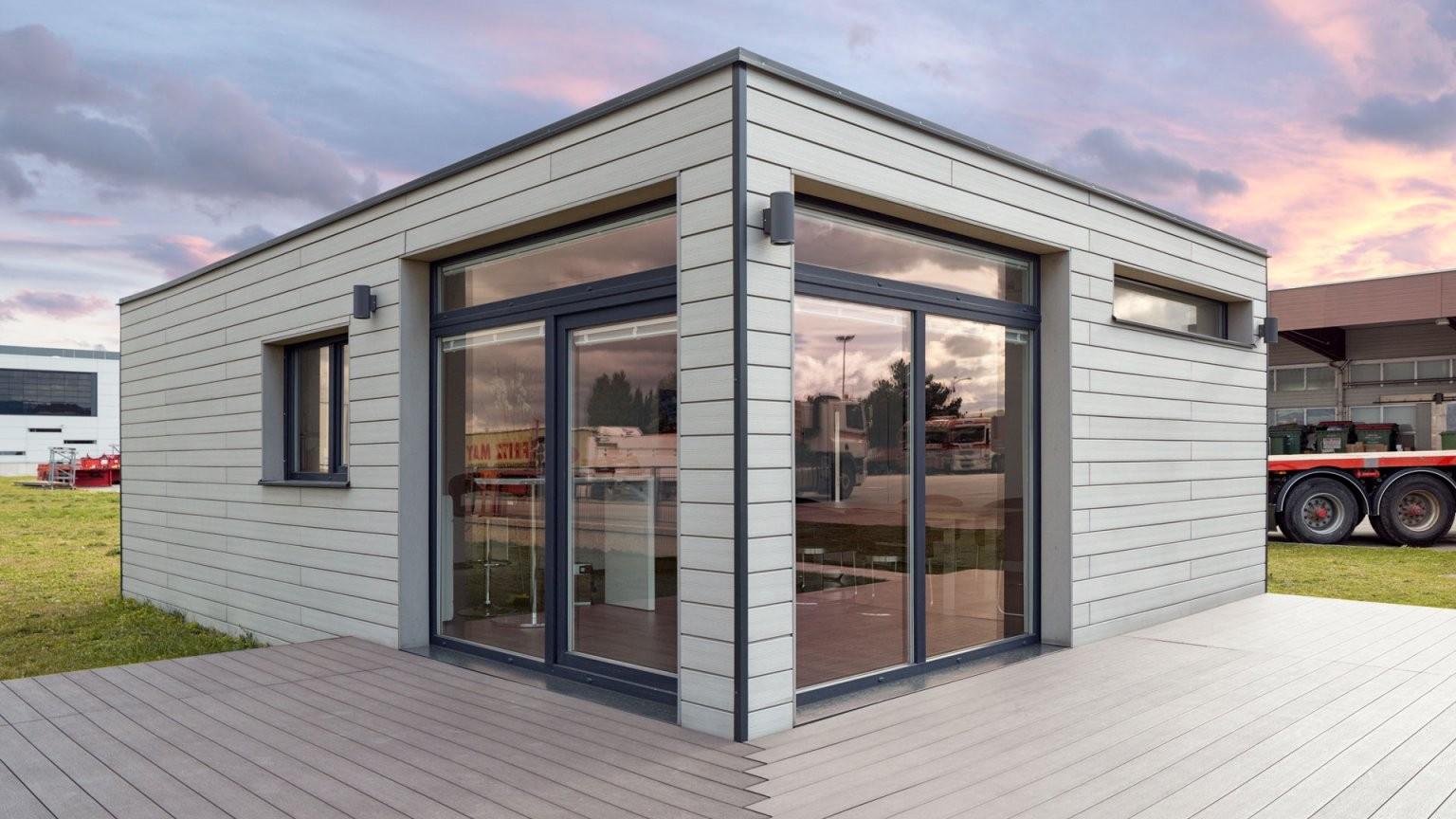 Wohncontainer  Agrav Containermodulsysteme Gmbh von Container Haus Bauen Lassen Bild