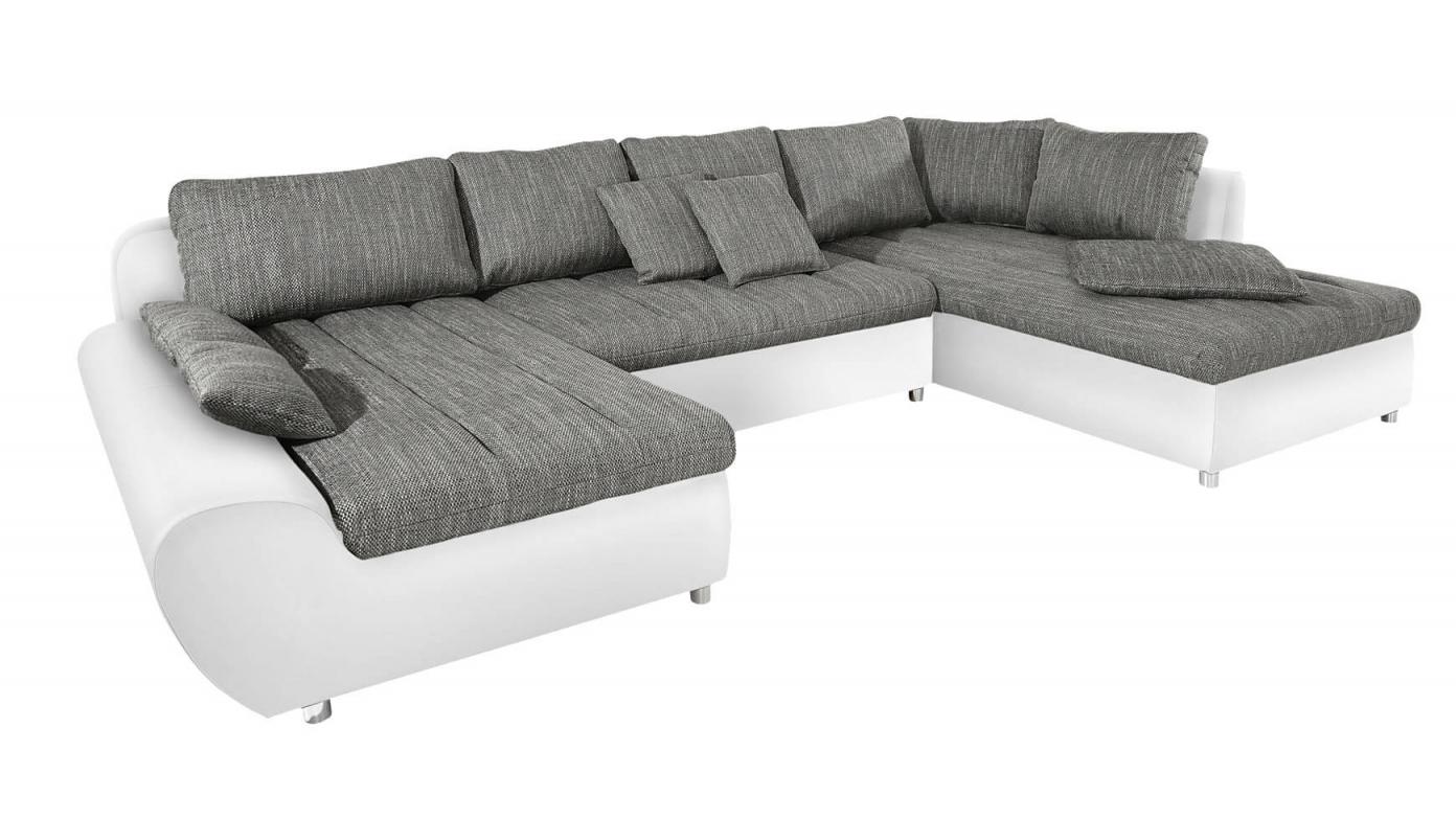Wohnlandschaft Gemütliches Sofa In Uform Kaufen Bei  Cnouch von Günstige Wohnlandschaft Mit Bettfunktion Bild