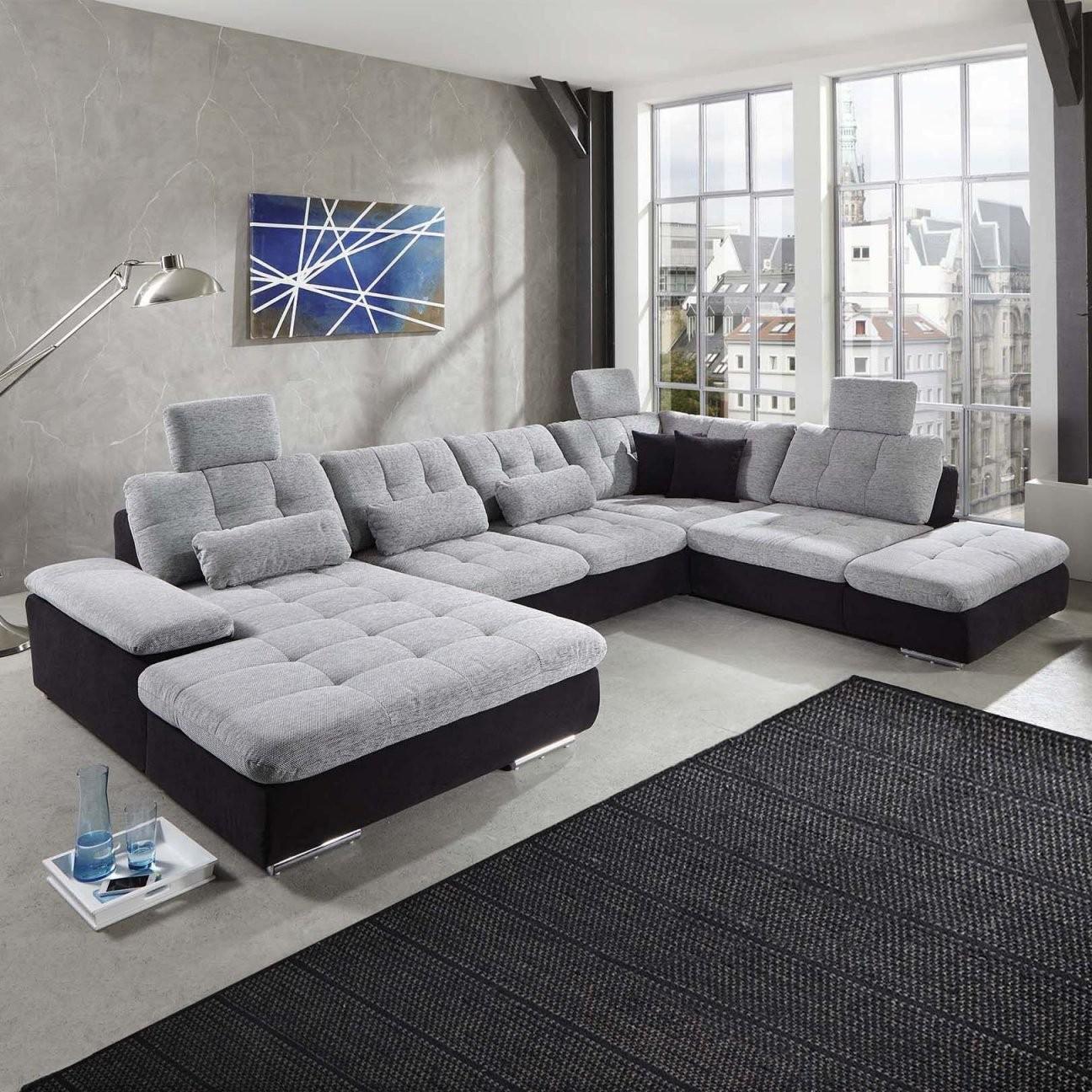 Wohnlandschaft Power Individuell Konfigurierbares Sofa In Uform von Xxl Wohnlandschaft U Form Bild