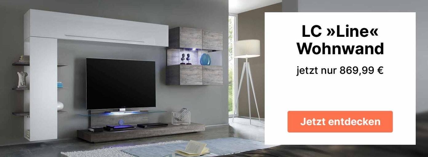Wohnwand  Anbauwand  Schrankwände Online Kaufen Cnouch von Wohnwand Auf Rechnung Als Neukunde Bild