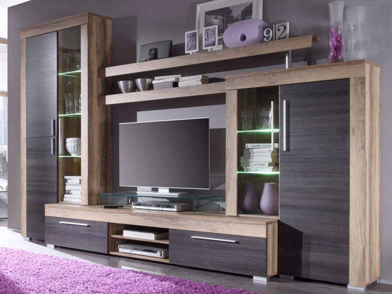 Wohnwand Schrankwand Boom Nussbaum Touchwood  Designermöbel von Wohnwand Auf Rechnung Als Neukunde Bild