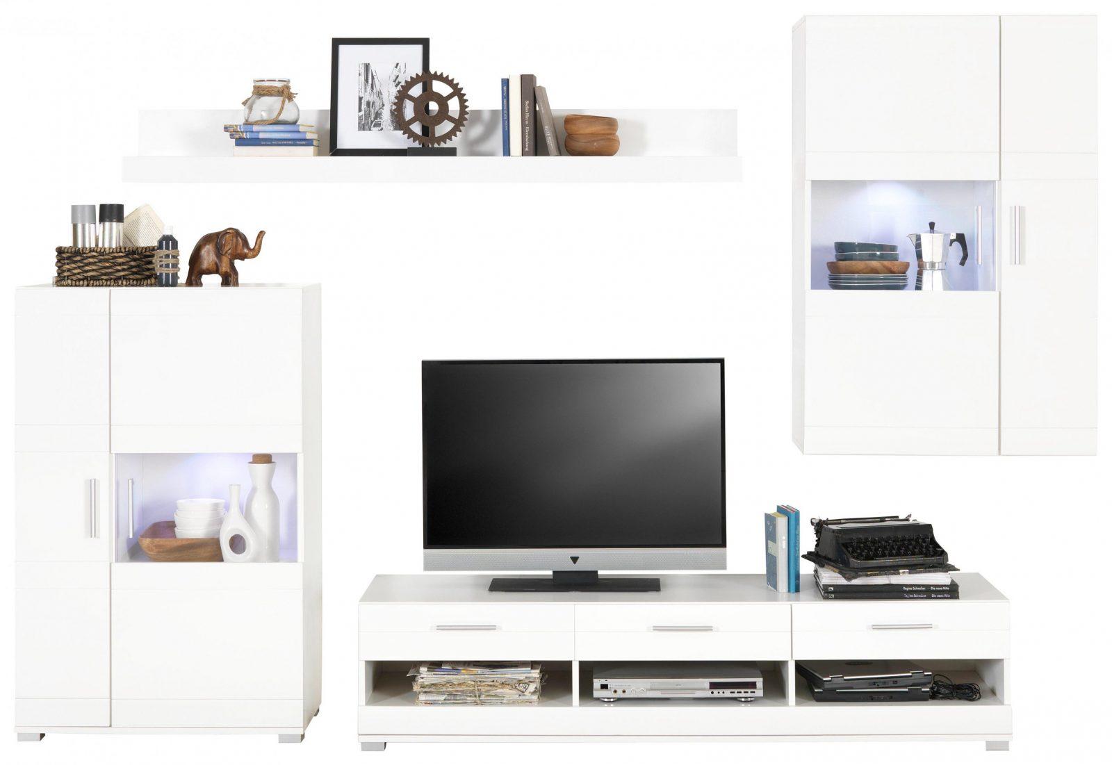 Wohnwand Weiß Online Kaufen ➤ Xxxlutz von Wohnwand Auf Rechnung Bestellen Bild