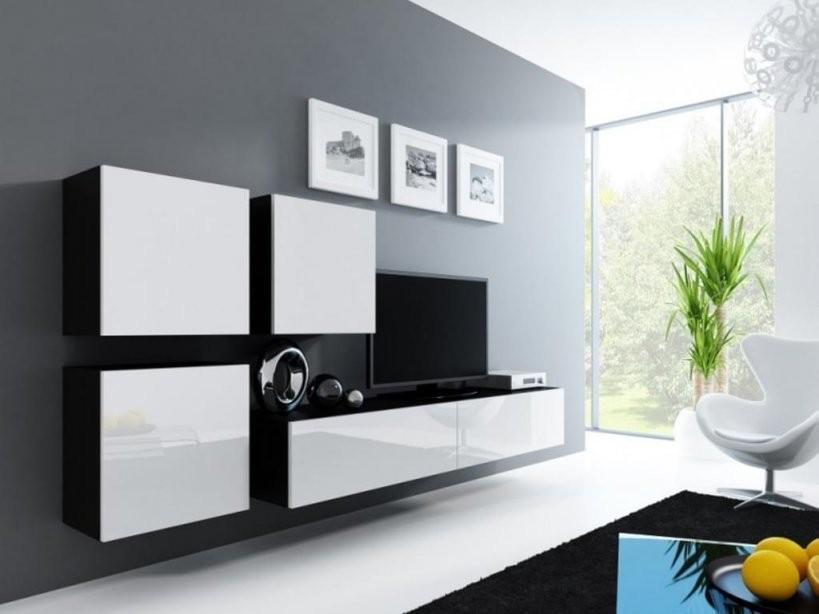 Wohnwände Günstig Online Kaufen  Real von Wohnwand Weiß Hochglanz Günstig Photo