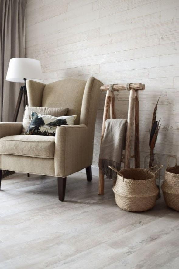 Wohnzimmer Dekoidee Wandverkleidung Holz Wandwood Deko Einrichtung von Deko Landhausstil Selber Machen Bild