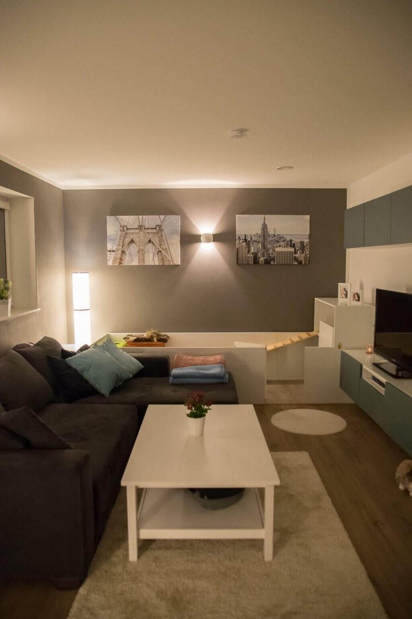 Wohnzimmer Streichen  Nach Zwei Jahren Lust Auf Was Neues von Wohnzimmer Grau Weiß Streichen Bild