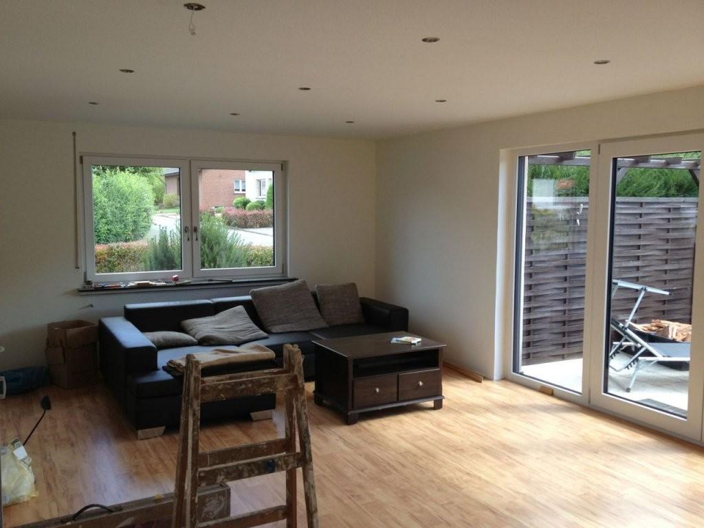 Wohnzimmerdecke Abhängen Und Lichtinstallation  Bauanleitung Zum von Led Spots Decke Abstand Photo
