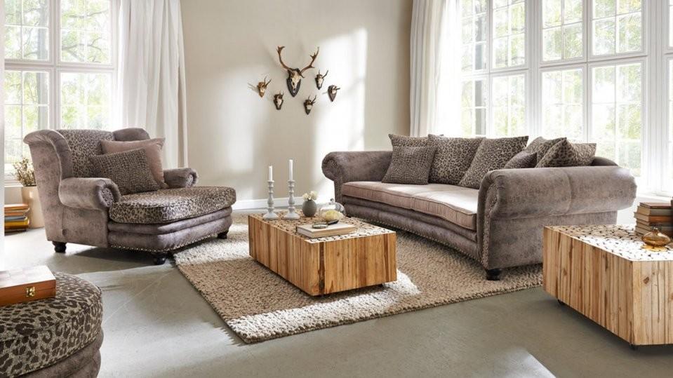 Woods  Trends Megasofa  Bigsofa Mit Federkern Bezug In Brauntönen von Gutmann Factory Big Sofa Photo