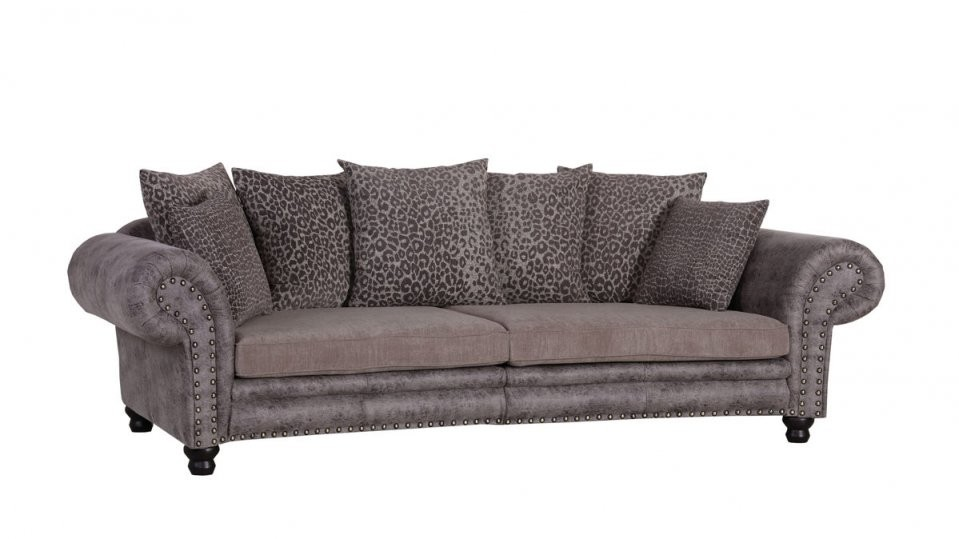 Woods  Trends Megasofa  Bigsofa Mit Federkern Bezug In Brauntönen von Gutmann Factory Big Sofa Photo