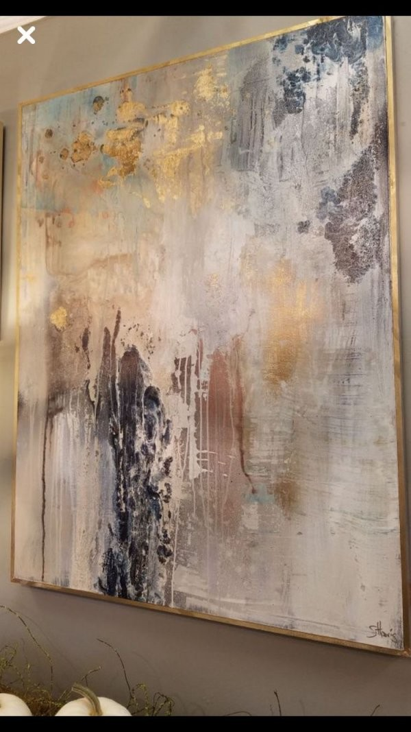 Would Love A Piece Like This Above Our Bed Or In The Dining Room von Abstrakte Bilder Selbst Gestalten Bild