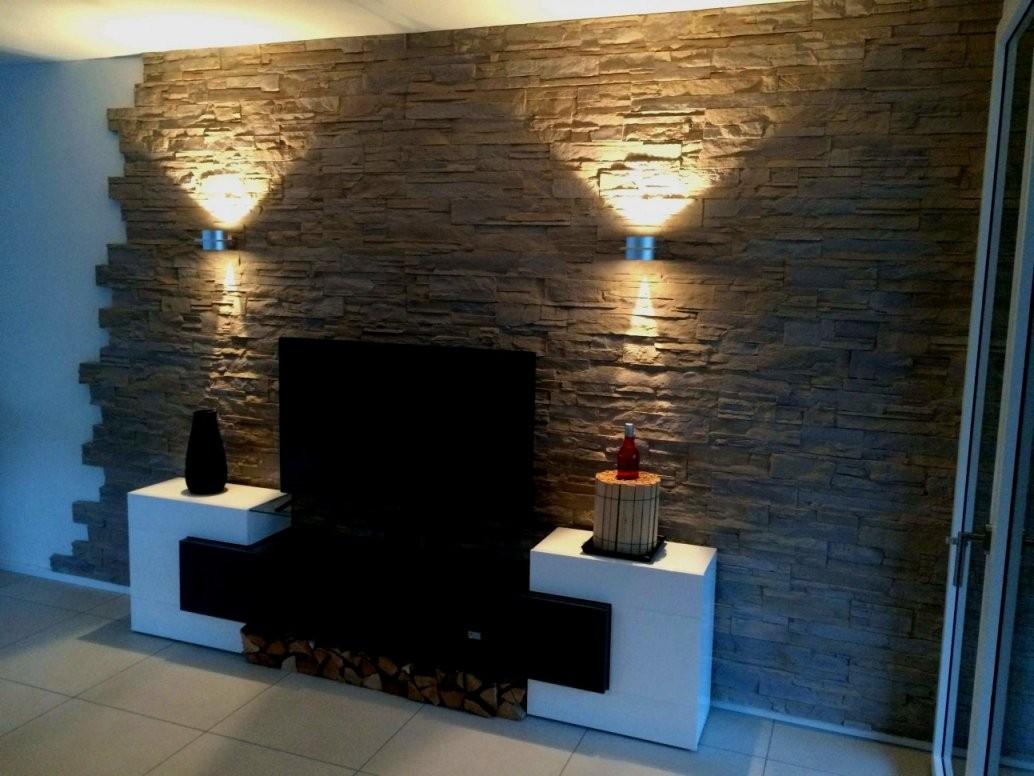 Wunderbar Von Wand Gestalten Mit Steinen Konzept Tapeten Wohnzimmer von Wände Mit Steinen Gestalten Bild