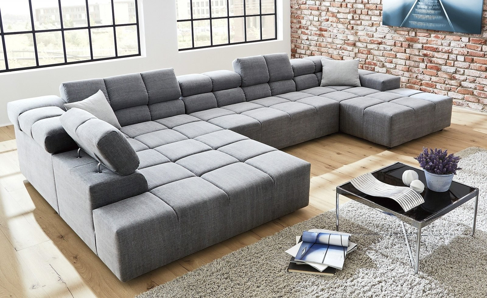 Wunderbar Wohnlandschaft Xxl U Form Big Sofa Full Size Furniture Das von Xxl Wohnlandschaft U Form Photo