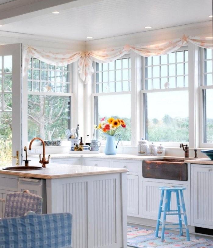 Wunderschone Inspiration Scheibengardinen Kuche Modern Und Von von Moderne Gardinen Für Die Küche Bild