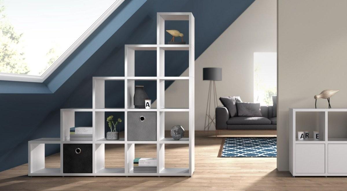 Würfelregal Boon  Modulares System Zum Selber Bauen In 2019  Home von Jugendzimmer Mit Dachschräge Einrichten Photo