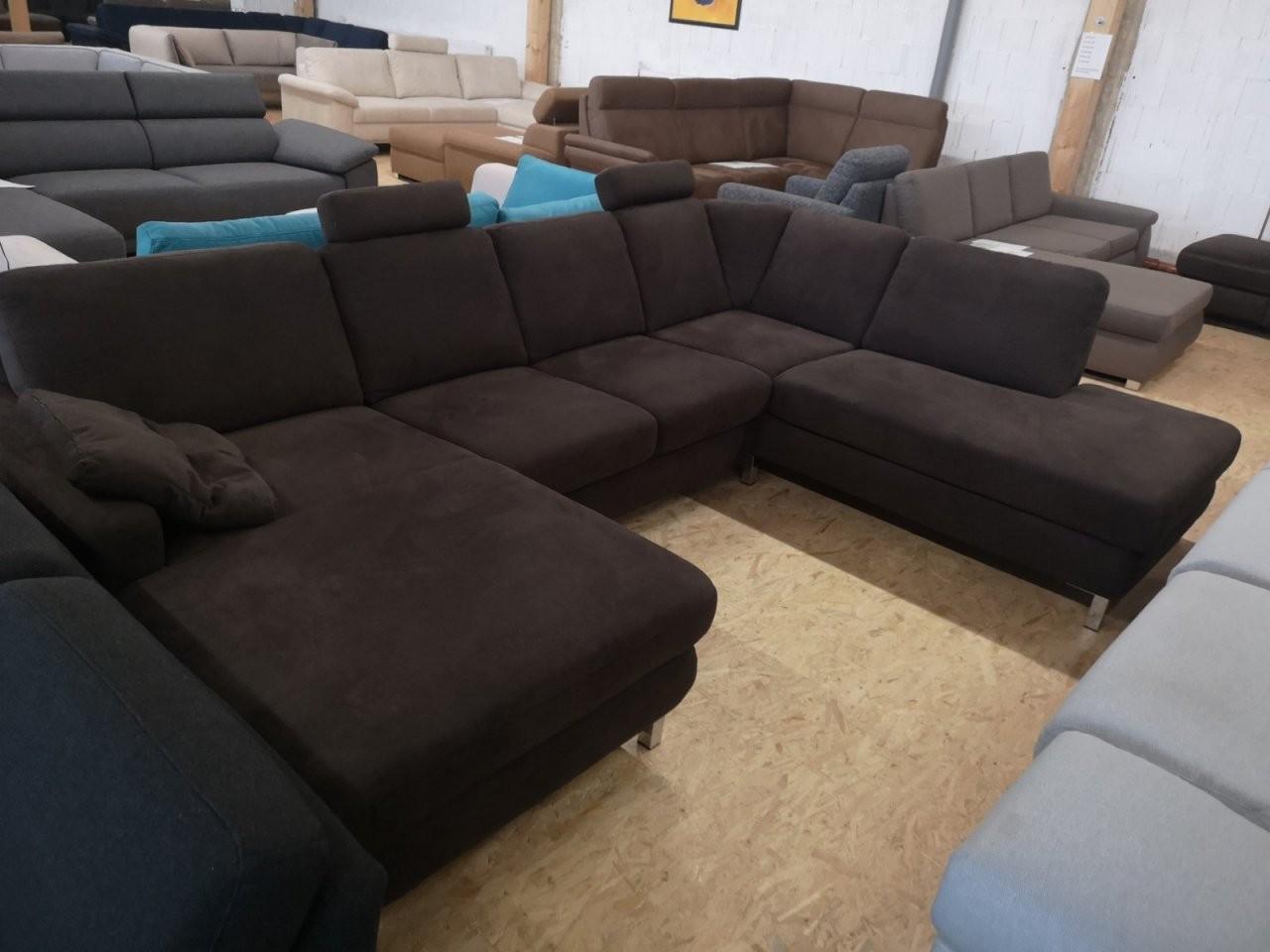 Xl Sofa Wohnlandschaftenmarkensofacouch 3  Sofa Günstig Kaufen von Günstige Wohnlandschaft Mit Bettfunktion Bild
