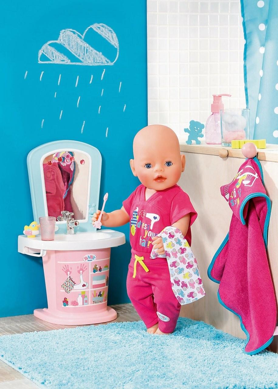 Zapf Baby Born Waschtisch Water Fun 824078 Waschbecken von Baby Born Interactive Waschtisch Bild