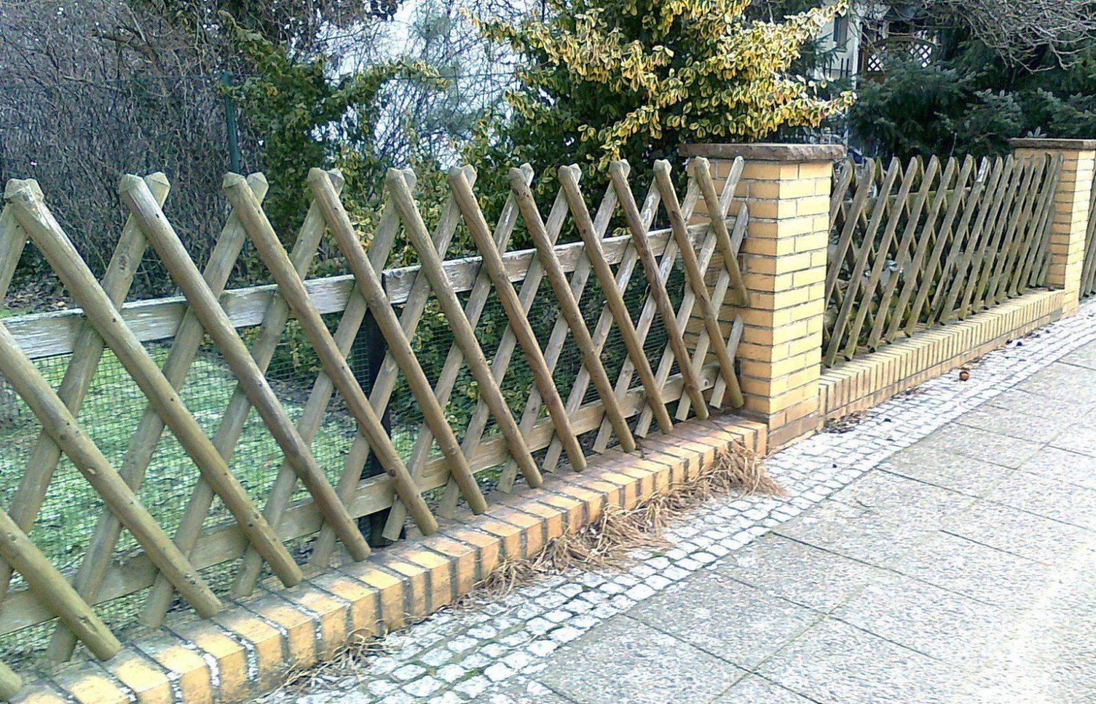 Zaun Terrasse Design Von Gartenzaun Selber Bauen Metall  Komplette von Gartenzaun Selber Bauen Metall Bild