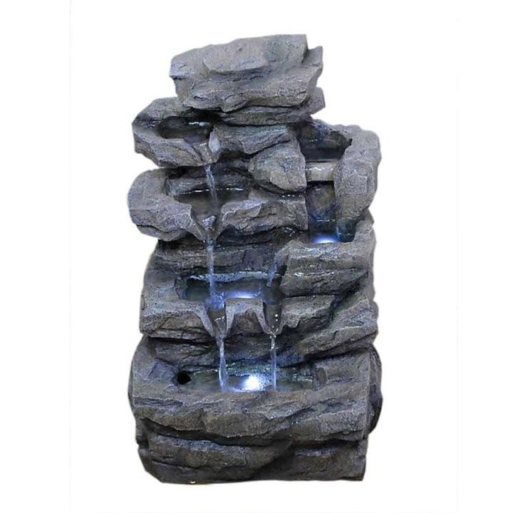Zimmerbrunnen Mit Wasserfall von Zimmerbrunnen Wasserfall Selber Bauen Bild
