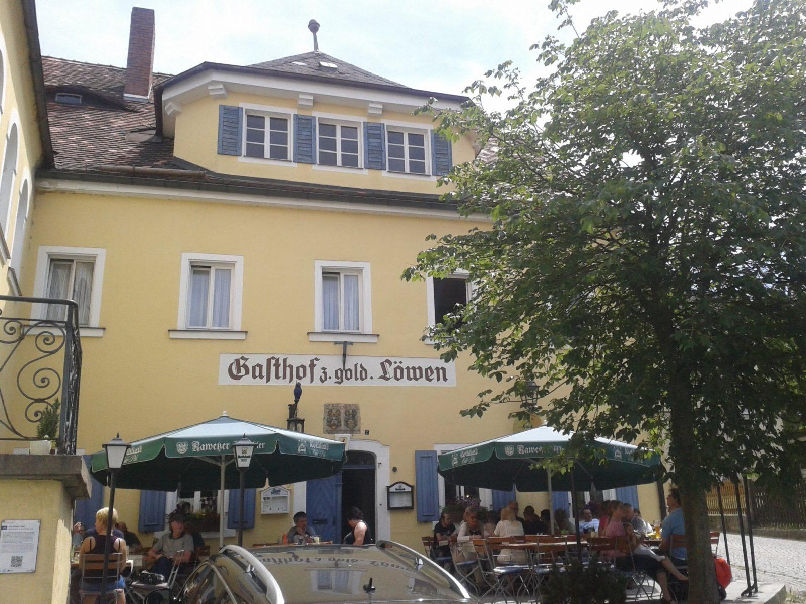 Zum Goldenen Löwen In Dörflas – Bavaritas von Gasthof Goldener Löwe Bayreuth Photo