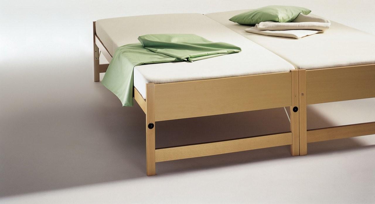 Zwei Betten Gleicher Größe  Unser Ausziehbett On Top von Bett Ausziehbar Gleiche Höhe Bild