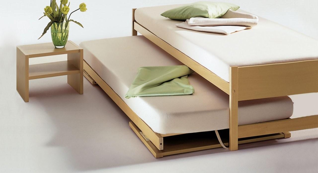 Zwei Betten Gleicher Größe  Unser Ausziehbett On Top von Bett Zum Ausziehen Gleiche Höhe Photo