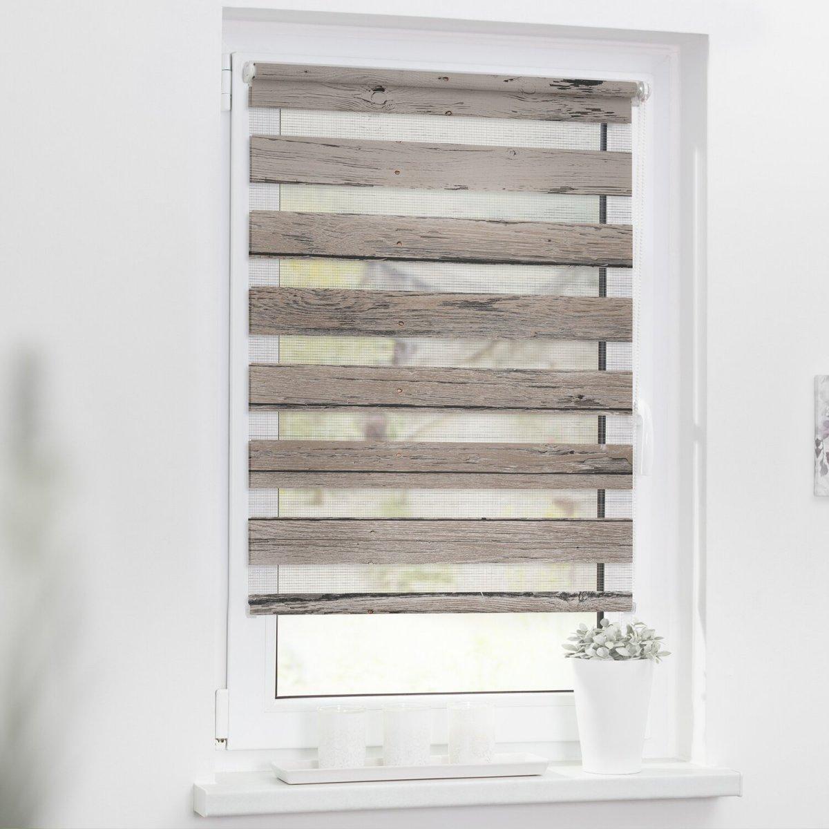 Lichtblick Duo Rollo Klemmfix Ohne Bohren Blickdicht von Fenster Jalousien Innen Ohne Bohren Photo