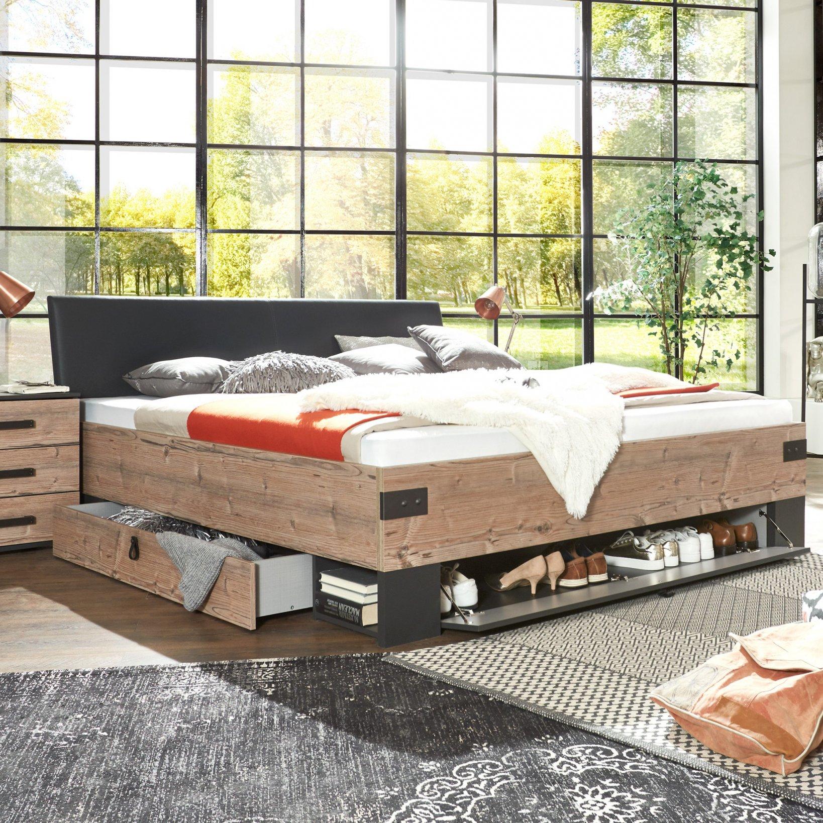 Bett Weiß 180X200 Massivholz Betten Steens 220 X 200 Topper von Bett 180X200 Massivholz Komforthöhe Bild