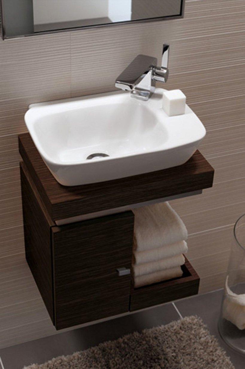 Billig Handwaschbecken Gäste Wc von Waschbecken Klein Mit Unterschrank Photo