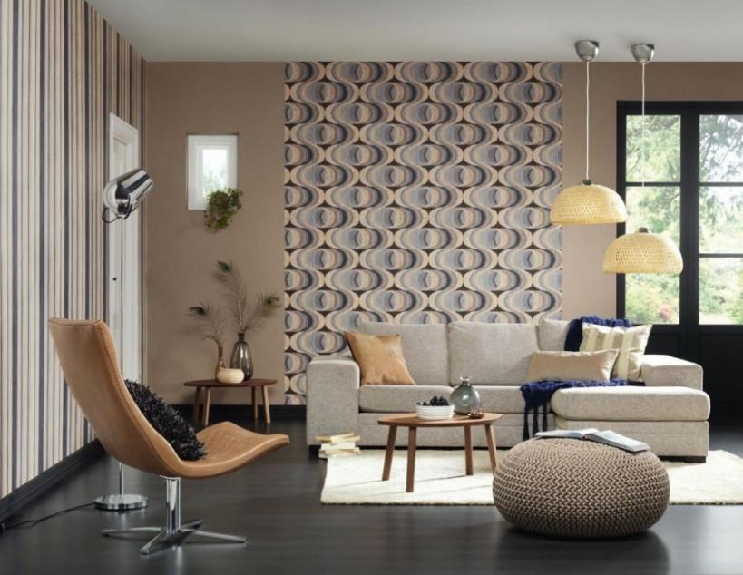 10 Elegant Kollektion Von Wohnzimmer Deko Tapete  Tapete von Vliestapete Wohnzimmer Ideen Photo