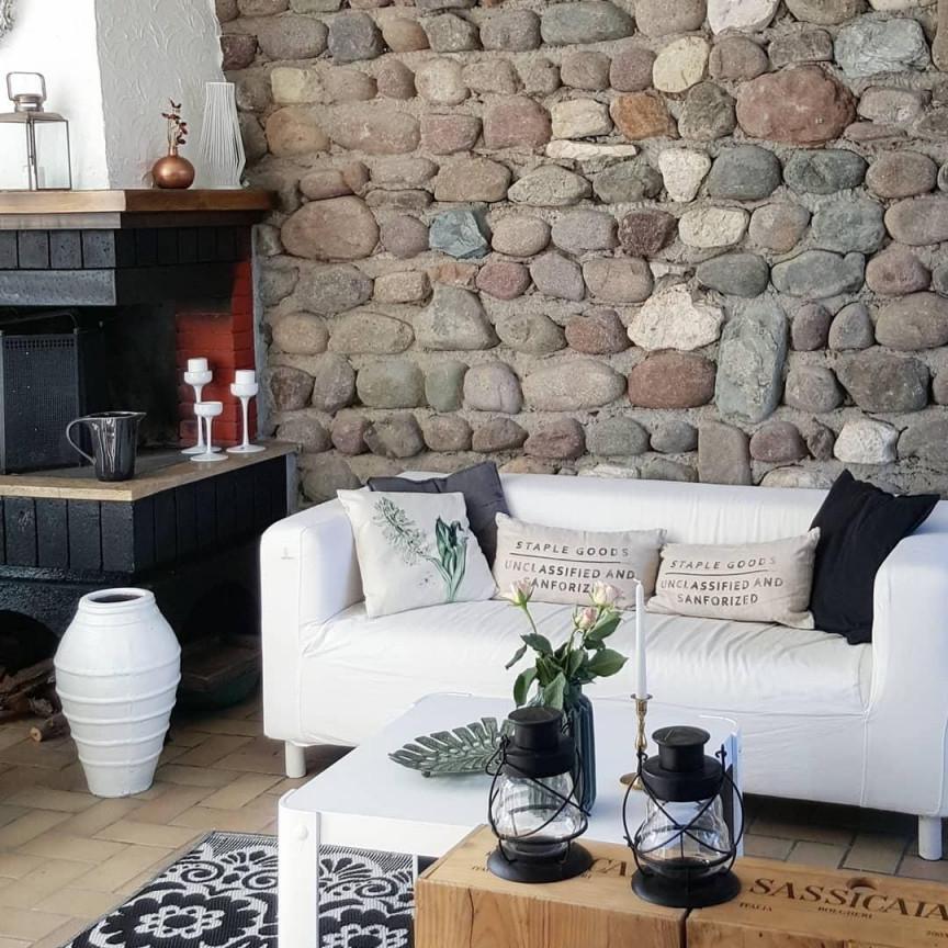 10 Ungewöhnlich Deko Wohnzimmer Einfach Für Sie Zu von Steinwand Deko Wohnzimmer Photo