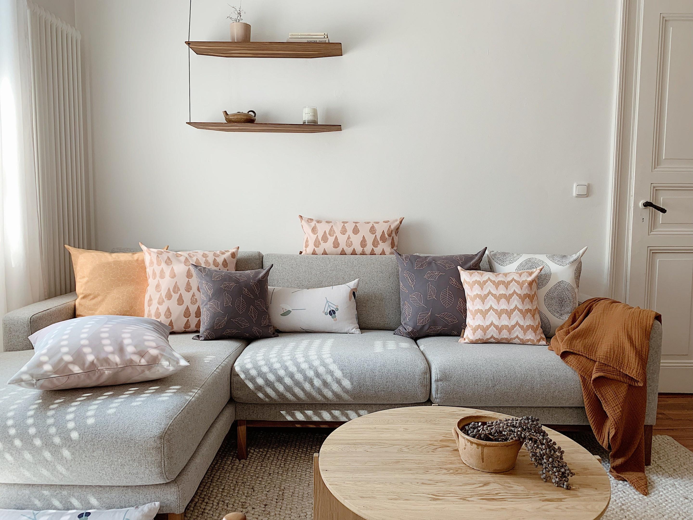 10 Wohnzimmer Deko Ideen Mit Trendcharakter von Deko Objekte Wohnzimmer Bild