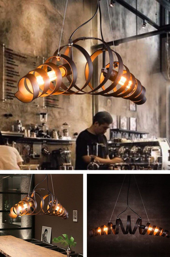 11 Present Fotos Von Wohnzimmer Lampe Stylisch  Industrial von Wohnzimmer Lampe Industrial Photo