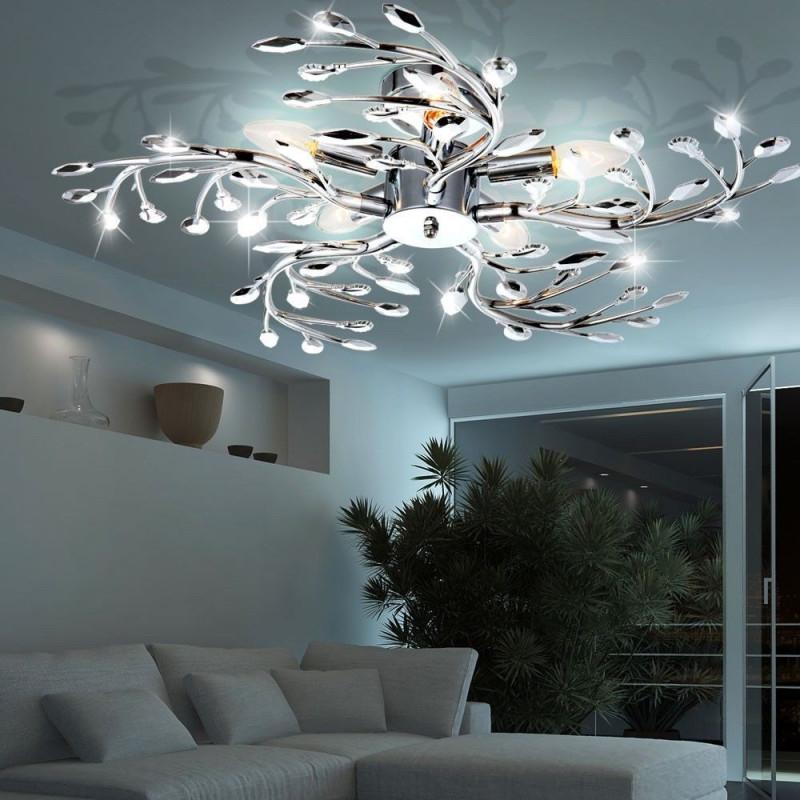 13 Deckenleuchte Wohnzimmer Design Frisch  Lqaff von Designer Deckenlampe Wohnzimmer Bild