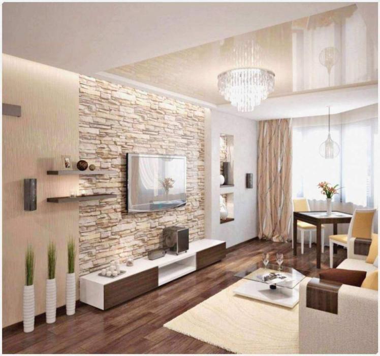 15 Erstaunliche Steinwand Wohnzimmer In 2020  Wohnzimmer von Wohnzimmer Warm Gestalten Bild