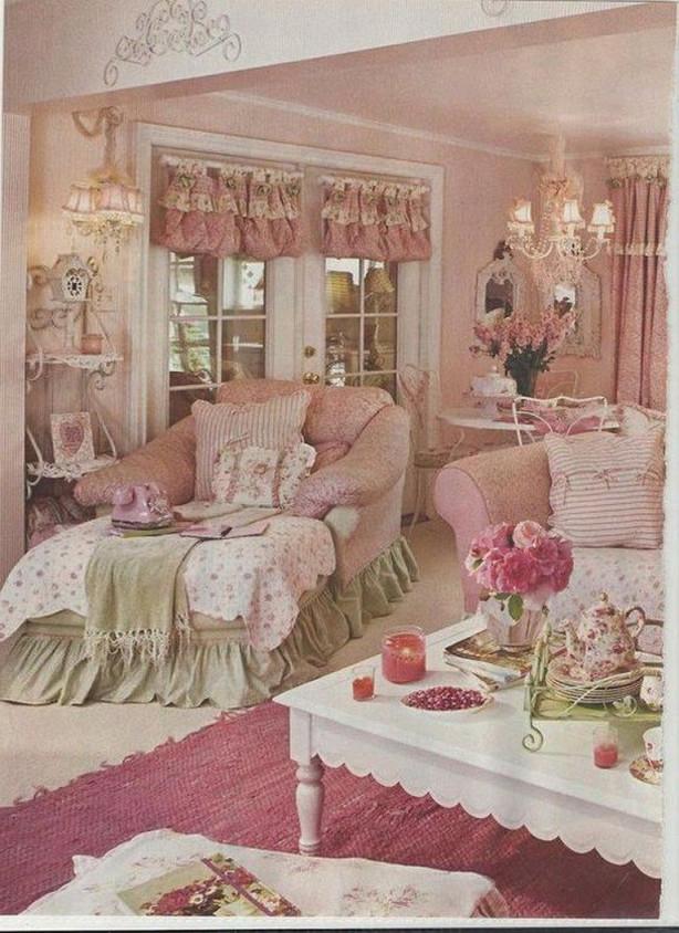 17 Awesome Vintage Wohndekoideen Shabby Chic Stil von Vintage Deko Wohnzimmer Bild