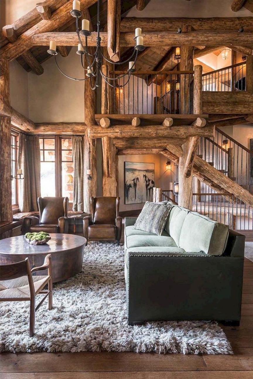 17 Beeindruckende Rustikale Homedesign Die Sie Kopieren von Wohnzimmer Rustikal Einrichten Bild