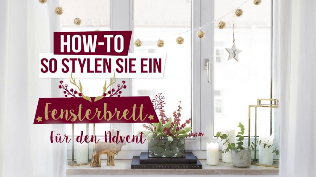 17 Ideen Fenster Dekorieren  Inklusive Fensterbank Deko von Fensterbank Gestalten Wohnzimmer Photo